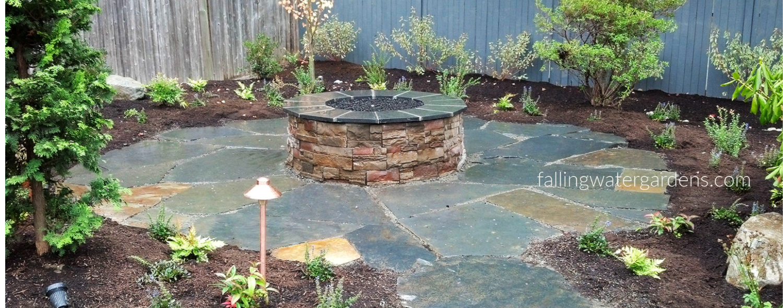 (c) Falling Water Designs Fire Pit Design