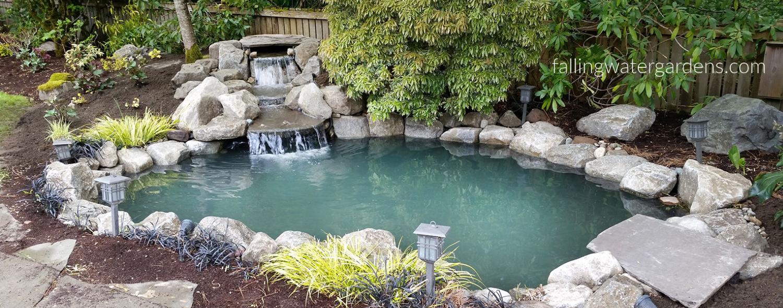 (c) Falling Water Designs Pond Design