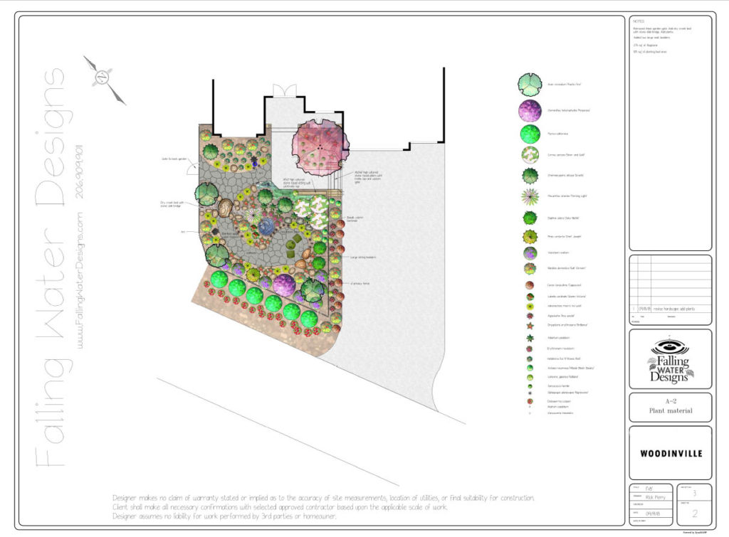 Falling Water Designs Woodinville Design