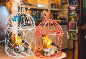 nested bird cages